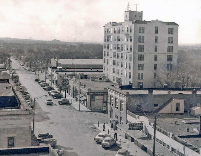 Water Street Kerrville 1950s