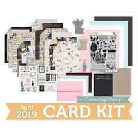 Simon's April Card Kit