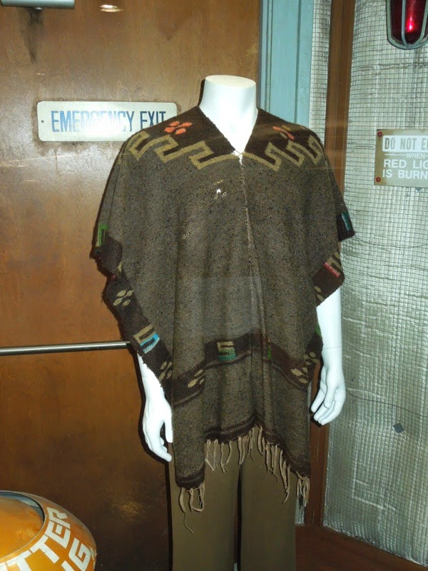 Marty McFly Western poncho Back to the Future III