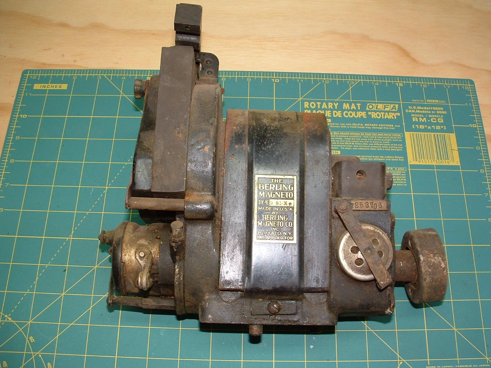 1928 Lincoln-Page LP-3 Restoration: Berling Magneto Overhaul