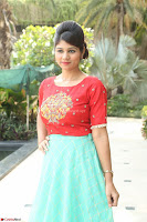Lucky Shree Looks super cute in Bright Red Green Anarkali Dress ~  Exclusive 021.JPG