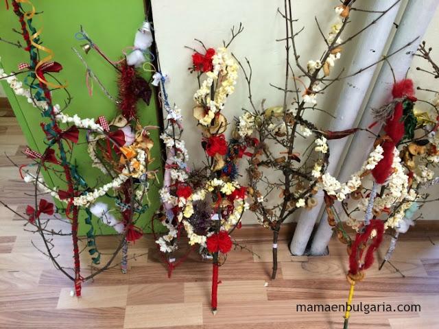 Survachkas de Año Nuevo Bulgaria