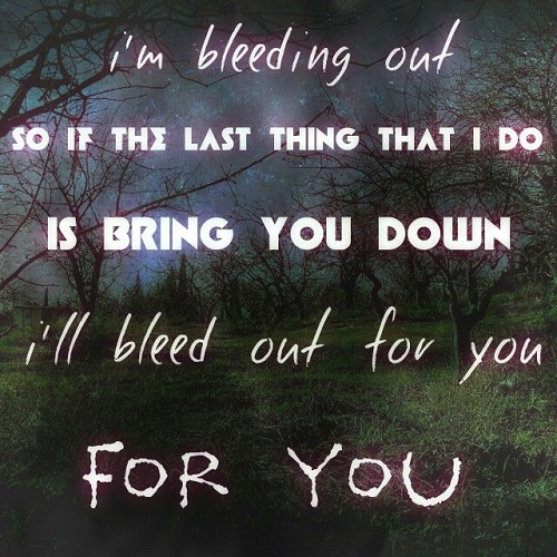 Imagine Dragons Lyrics Bleeding Out