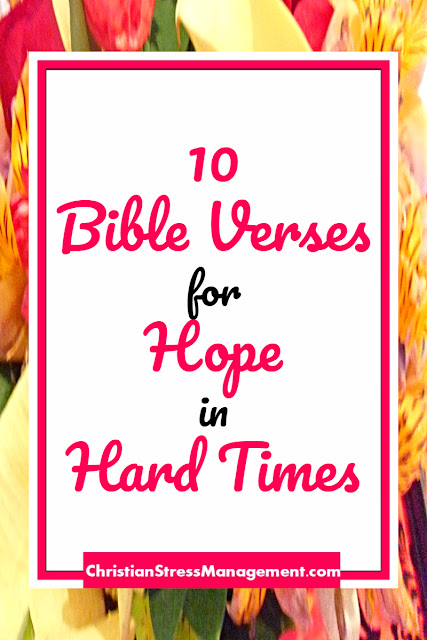 10 Bible Verses for Hope in Hard Times