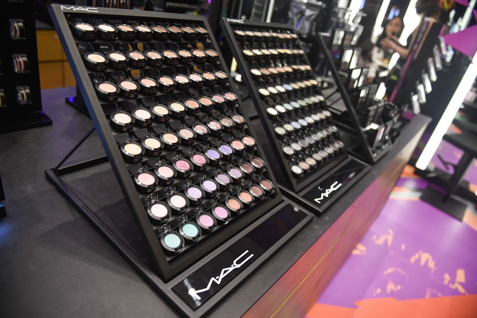 mac cosmetics at sm seaside city cebu beauty enthusiast