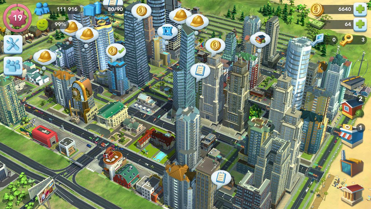 SimCity Buildit APK - bangun kota besar