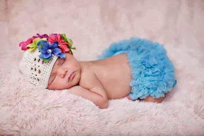 sevimli bebek uyku