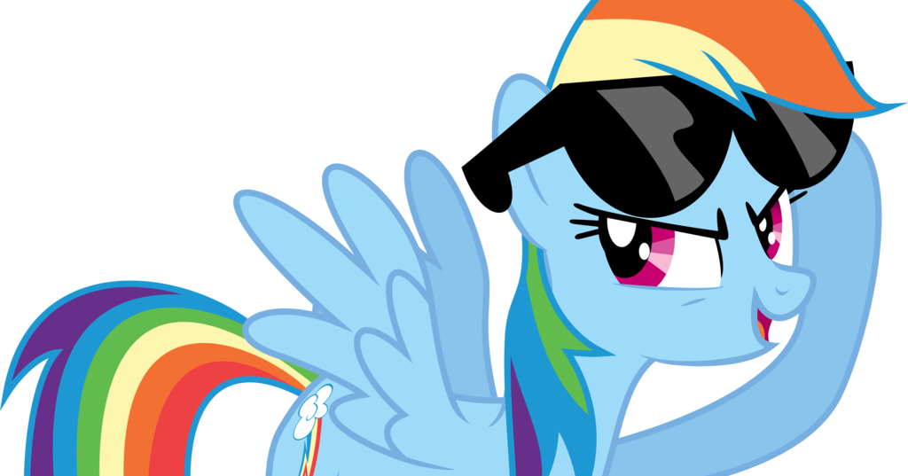 Equestria Daily - MLP Stuff!: Is Rainbow Dash a Jerk? Or Just