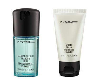 Cosméticos, maquiagem, miniatura, levar, viagem, MAC
