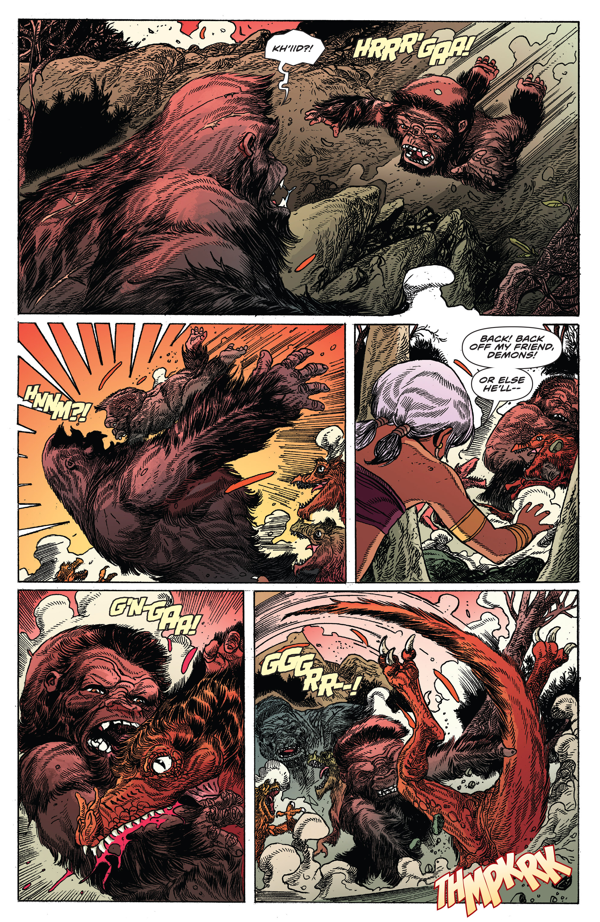 Read online Kong Of Skull Island comic -  Issue #12 - 12