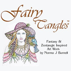 Fairy Tangle Art