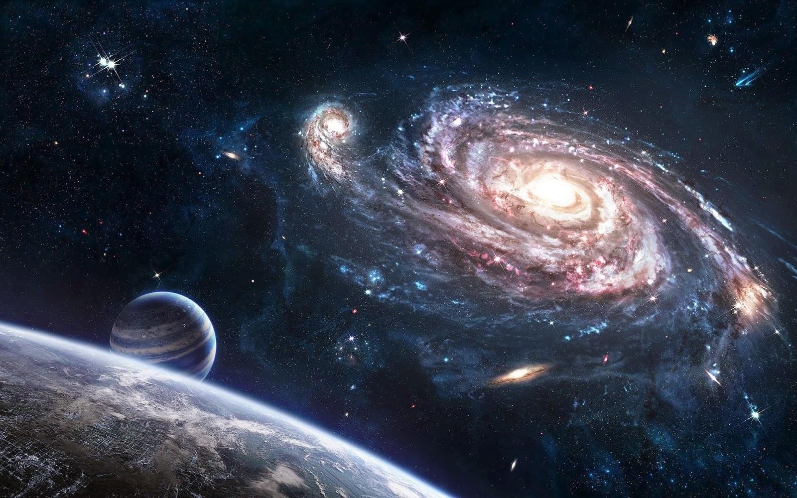 space galaxy wallpaper high