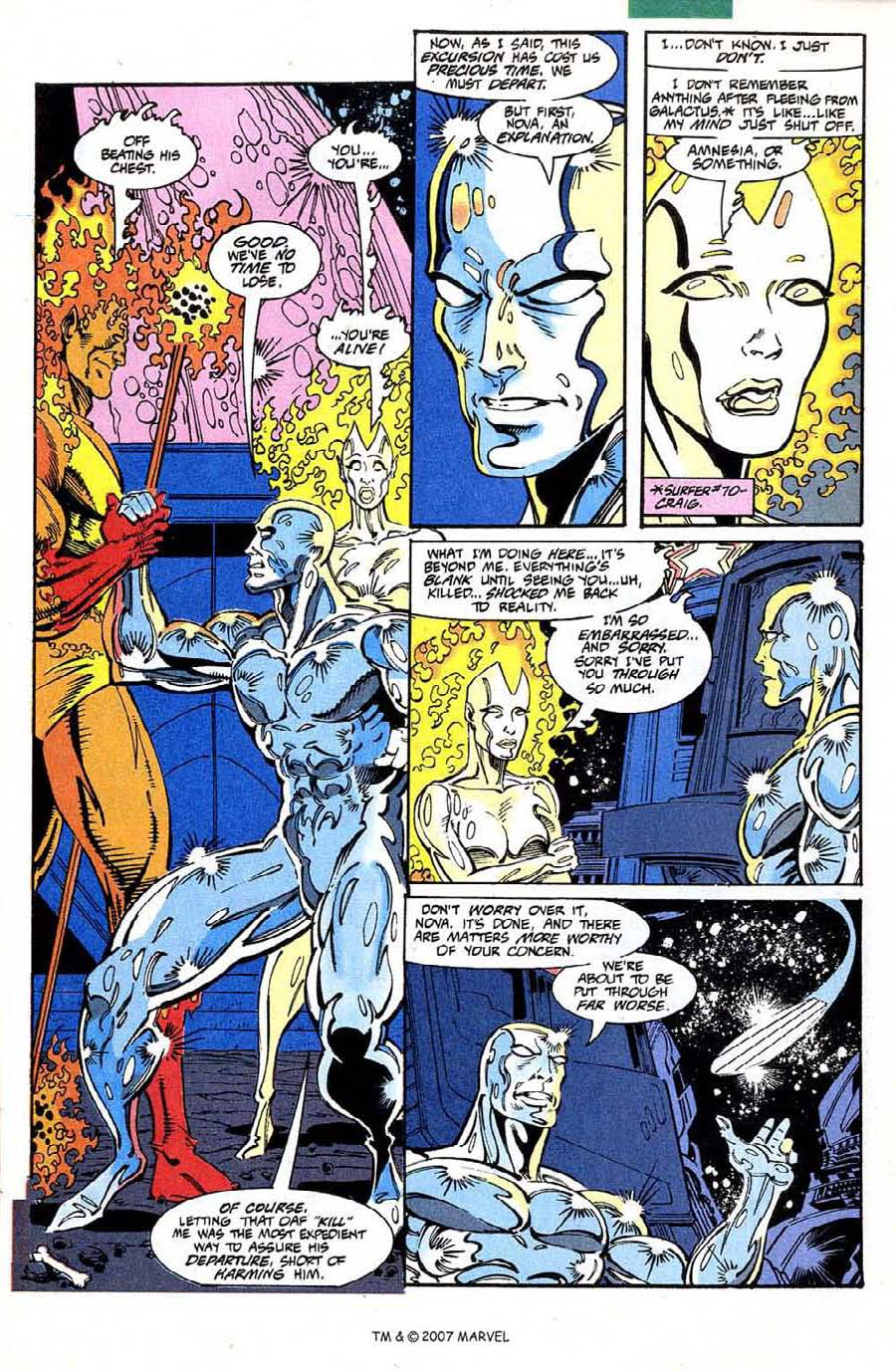 Read online Silver Surfer (1987) comic -  Issue #73 - 5