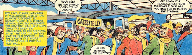 The Gatesfield Goons arrive in Melchester (1977/78)