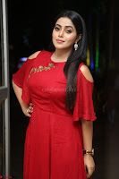 Poorna in Maroon Dress at Rakshasi movie Press meet Cute Pics ~  Exclusive 24.JPG