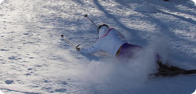 A Melhor Foto do Tombo Esquiando na Estação de Ski Aspen Snowmass