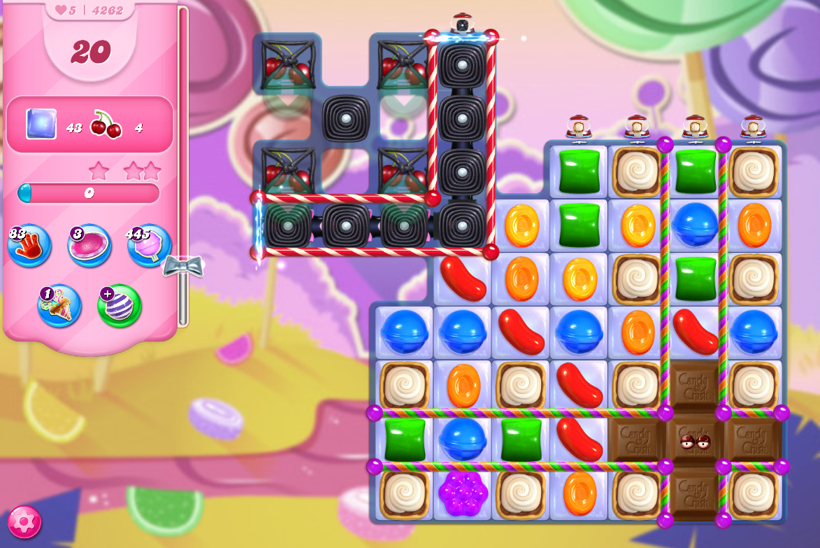 Candy Crush Saga level 4262