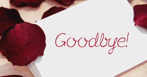 Rose Petal Goodbye Note Picture Images, Pictures, Wallpapers - goodbye note