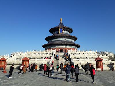 China Hours Temple of Heaven Park Beijing (Pekin) Facts