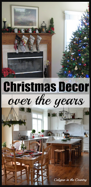 Christmas Inspiration and Decor over the years