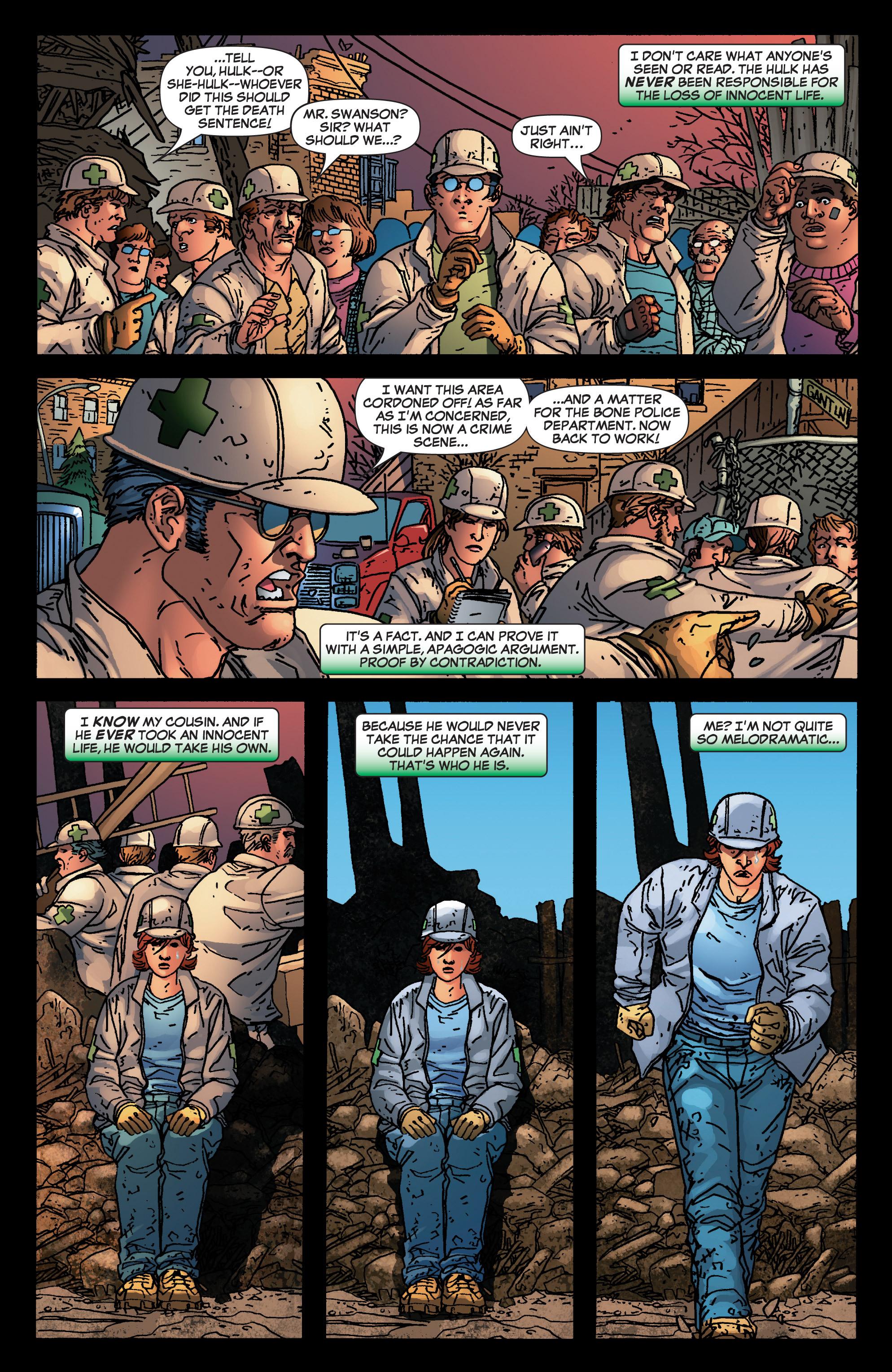 Read online She-Hulk (2005) comic -  Issue #4 - 13