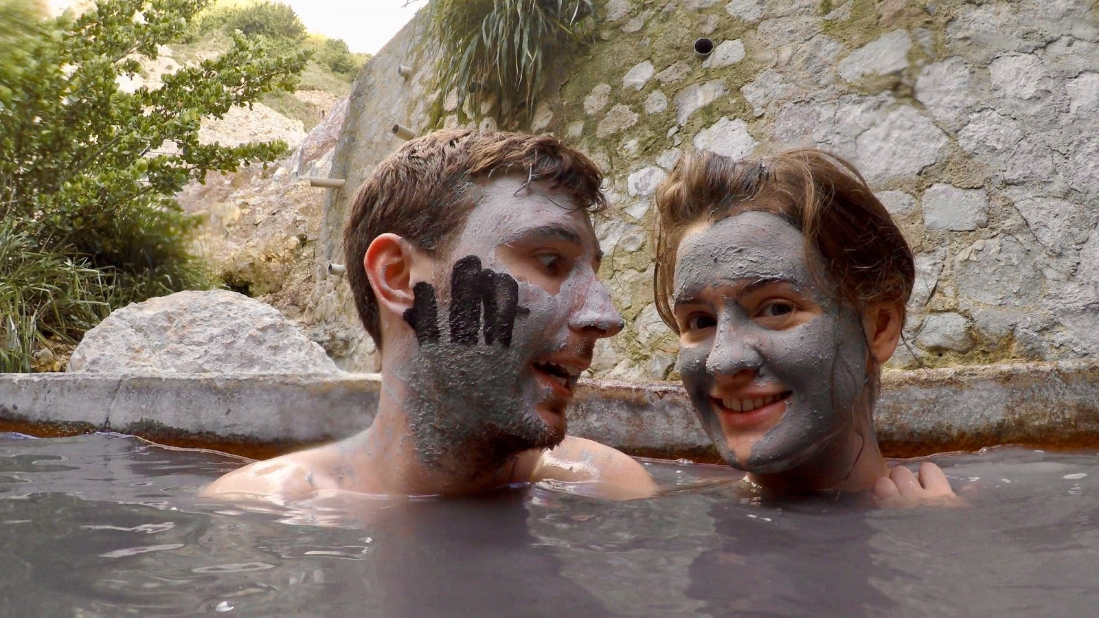 Mud baths in Soufrière, St Lucia by www.CalMcTravels.com