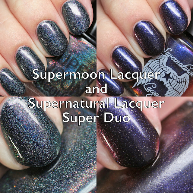 Supermoon Lacquer and Supernatural Lacquer Super Duo: Werewolf Edition