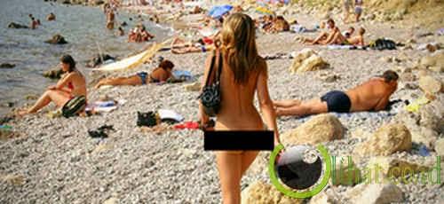 Pantai Spiaggia di Guvano, Italia