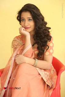Telugu Actress Santoshi Sharma Latest Stills in Salwar Kameez at HBD Movie Teaser Launch  0077.JPG