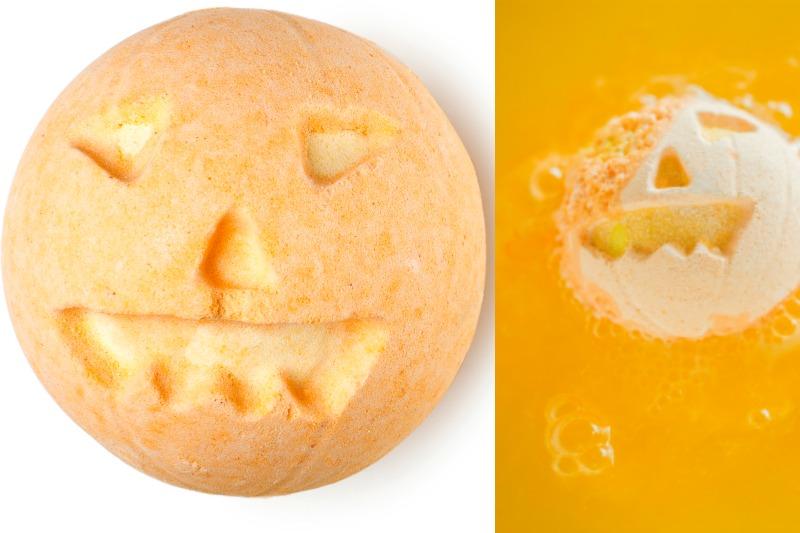 Pumpkin Badebombe von Lush