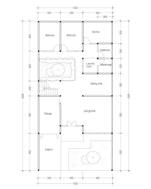 1st Floor Plan for Plan c-09