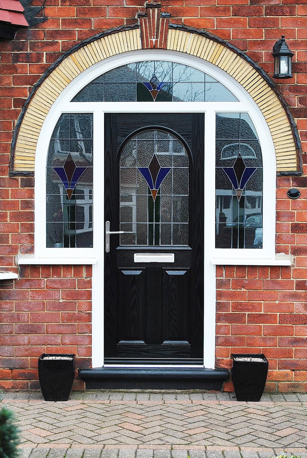 Beautiful house of upvc rehau windows composite doors for Composite windows