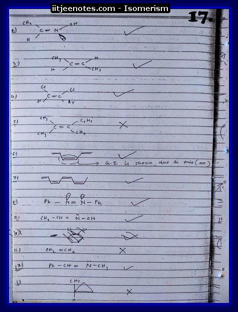 Isomerism Notes1