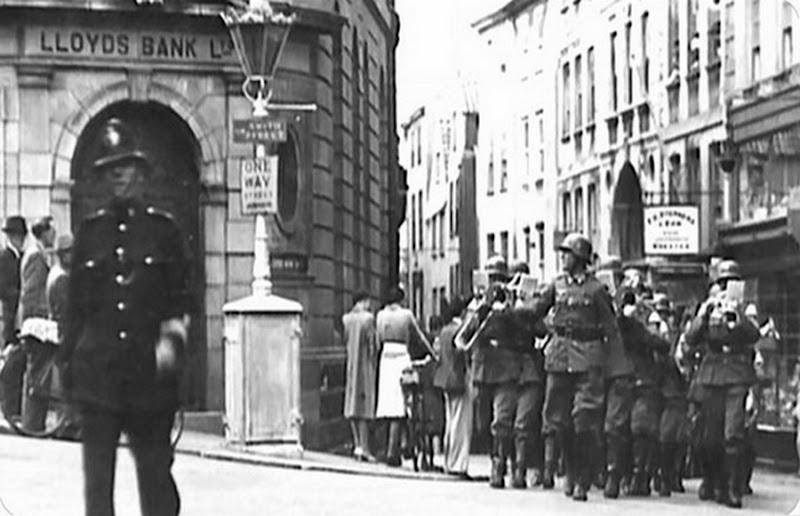Nazis en las islas de Jersey y Guernsey en 1940