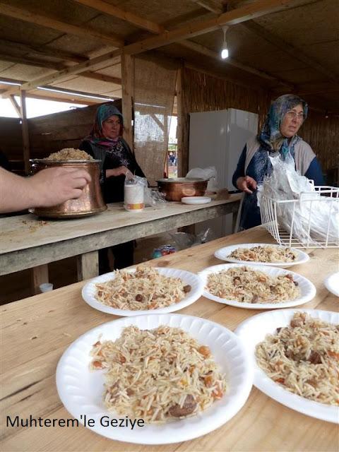 Özbek pilavı resimleri