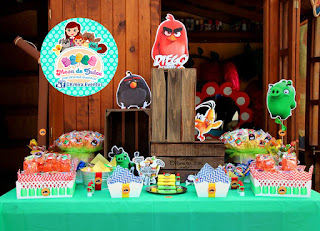 Mesa de dulces angry birds coyoacan