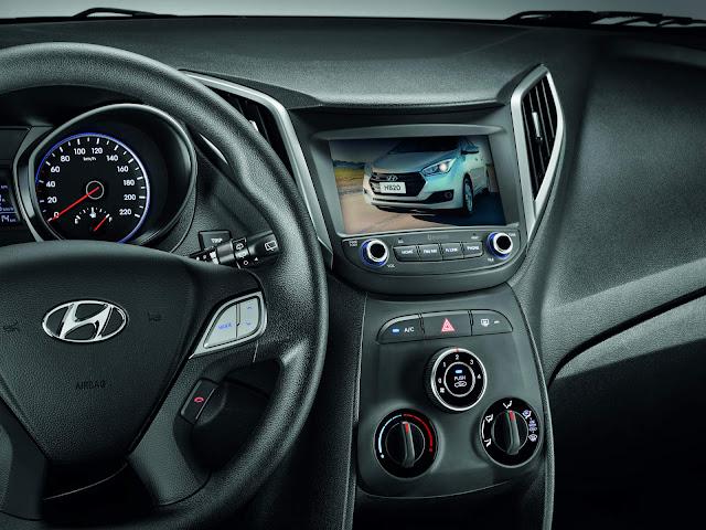 Hyundai HB20 2019 - interior