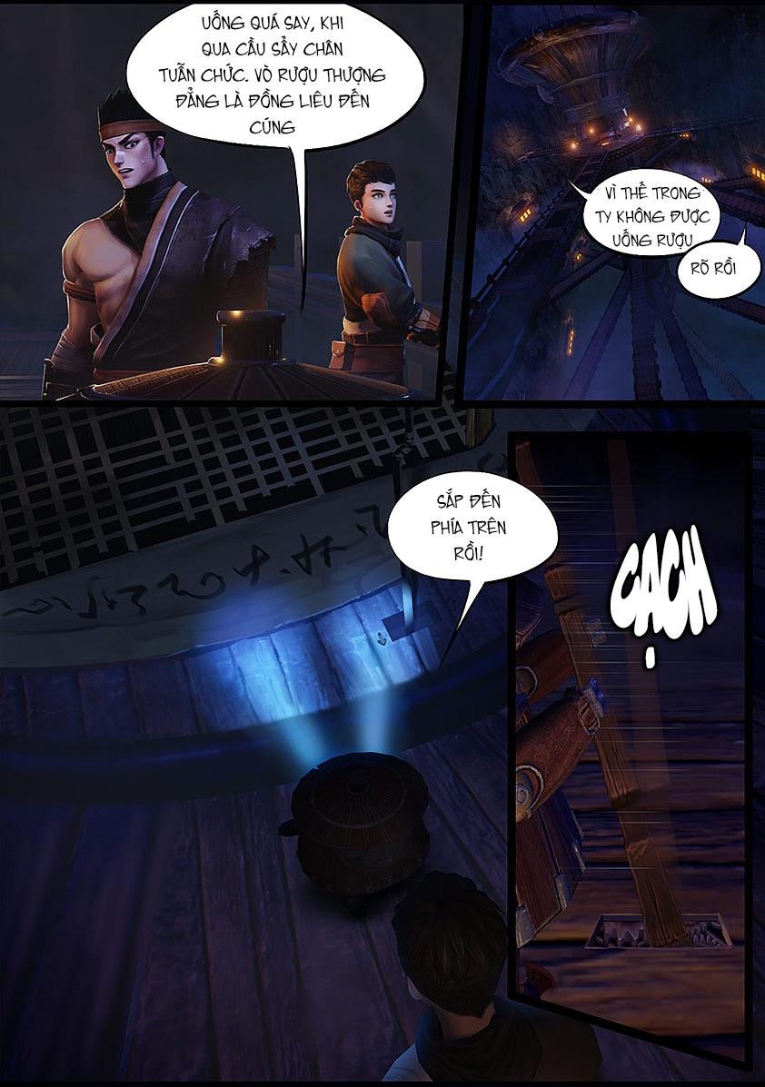Thủ Mộ Bút Ký - Chapter 47: Cơ Quan Ty - Pic 9