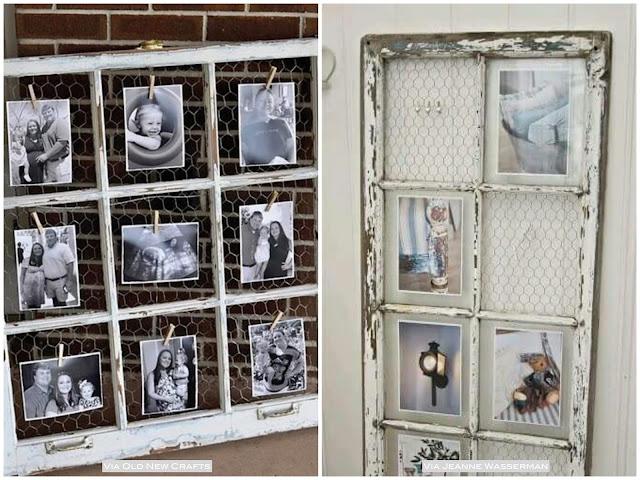 como fazer um mural de fotos a partir de uma janela