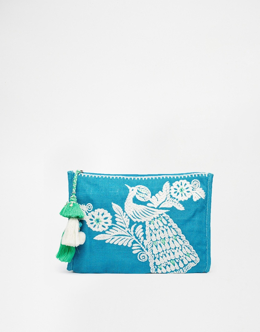Star Mela Dora Embroidered Purse