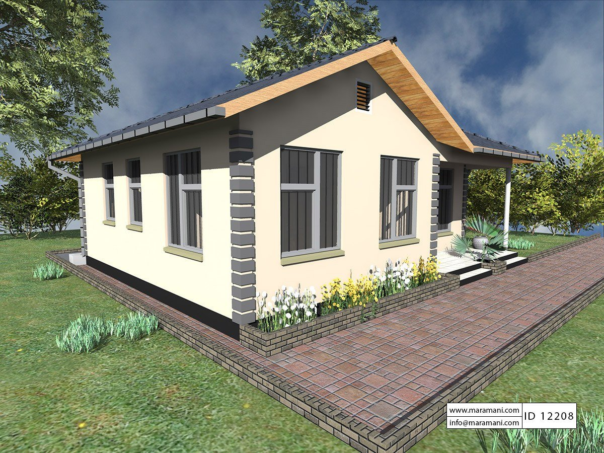 Here are 17 photos of small to mid-size houses with a lovely design. These houses have one to two bedroom, depending on the needs of every family. House specification is included! All photos are a credit to Maramani.com.