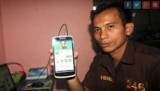 Hendri Jufri Kuli Panggul Yang Sukses Dengan Membuat Aplikasi Andoid