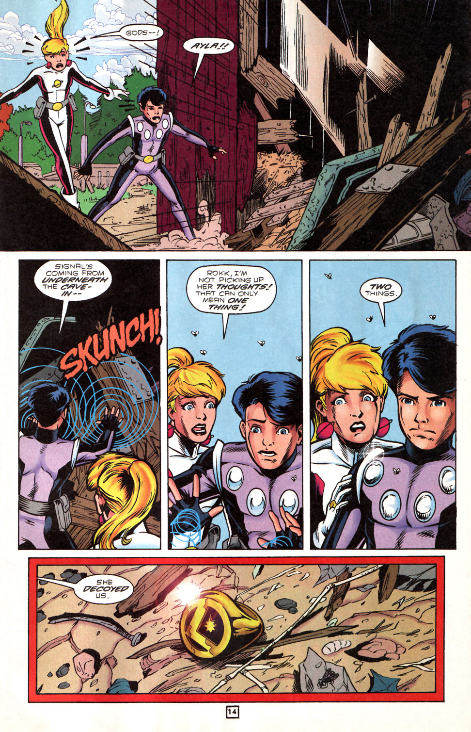 Legion of Super-Heroes (1989) 89 Page 13