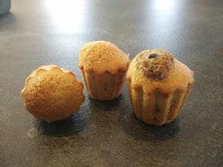 Muffins sans lait ni gluten