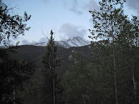 Snow on Mt. Elbert