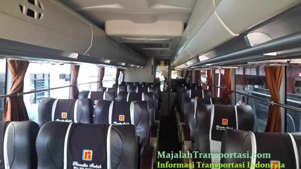foto interior bus rosalia indah super top scania k360 opticruise