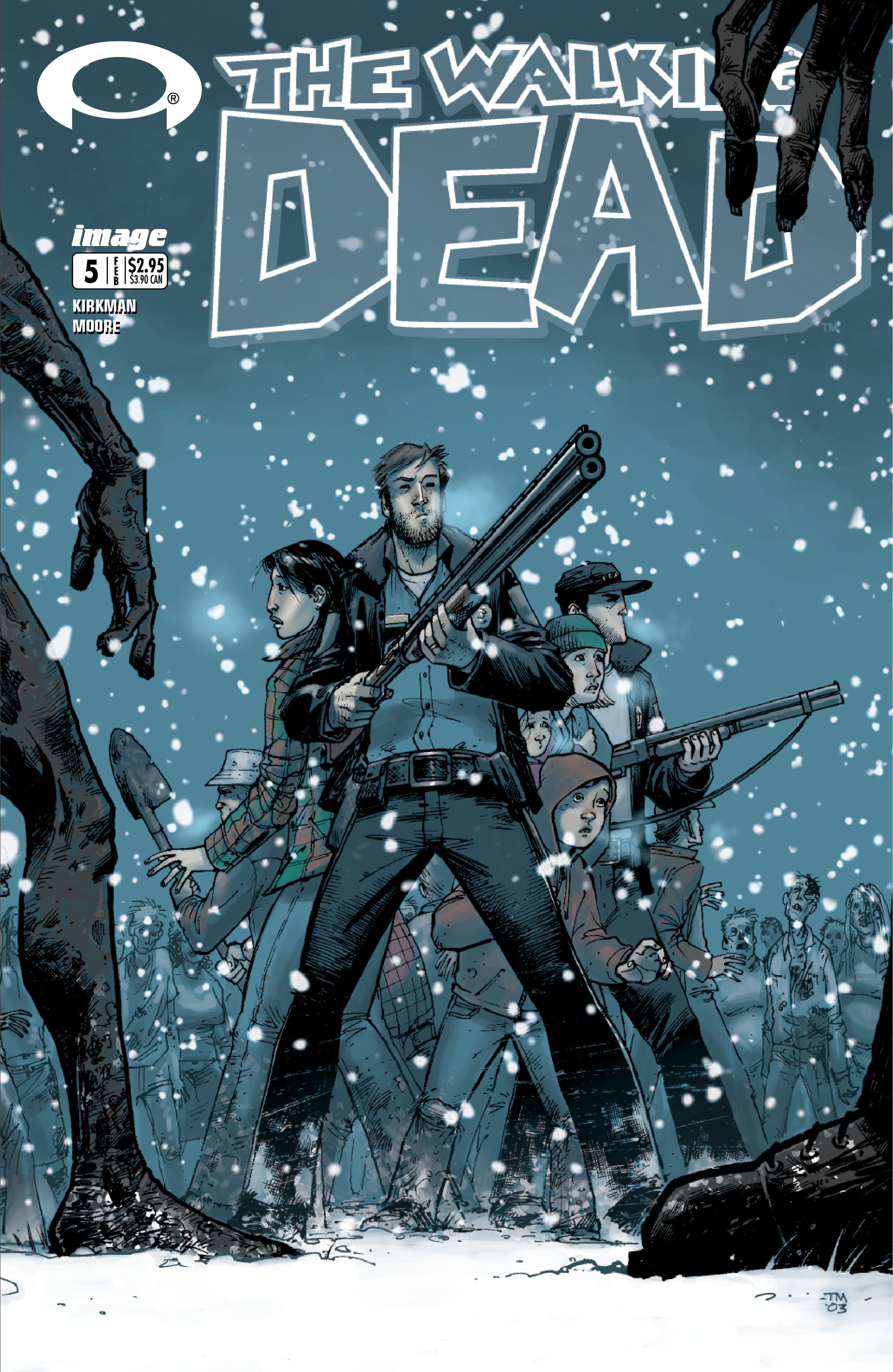 The Walking Dead 5 Page 1