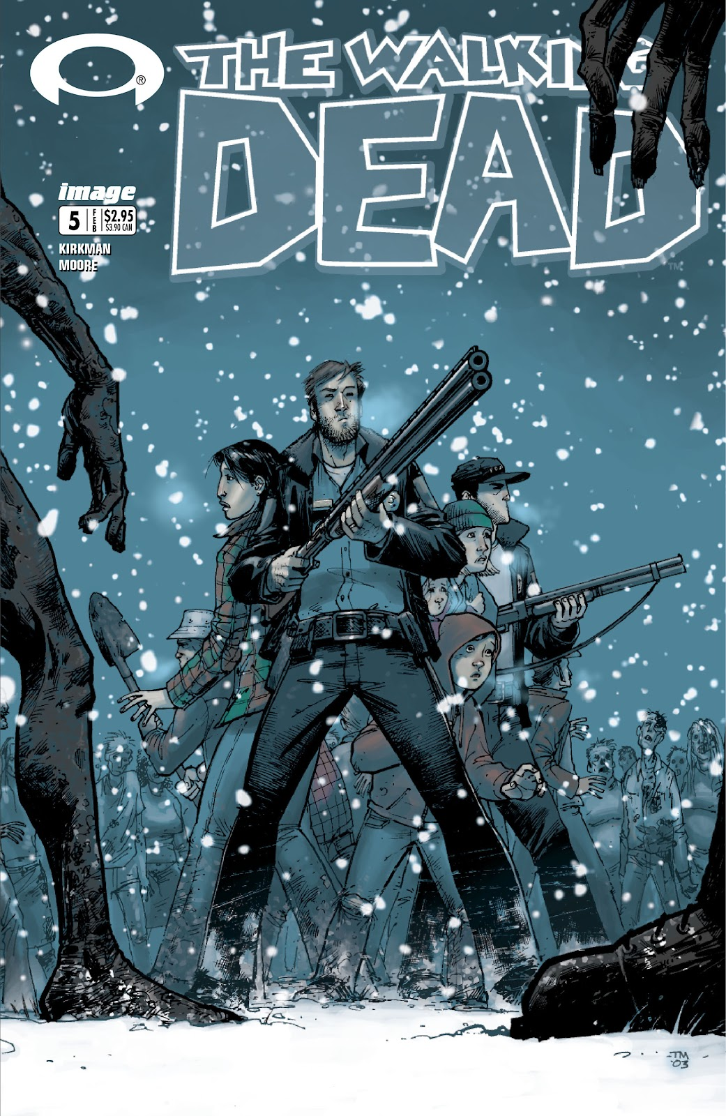 The Walking Dead issue 5 - Page 1