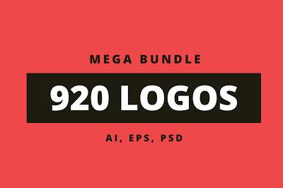 Mega paquete de 920 logos