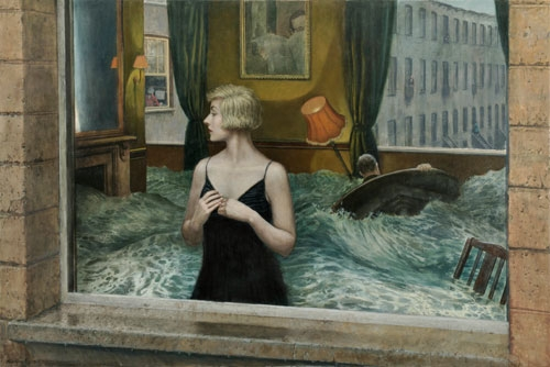 07-The-Trouble-with-Time-Mike-Worrall-Surrealism-in-Paintings-not-Always-Explained-www-designstack-co
